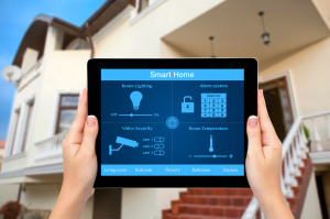 Target Safe Security Systems - Santa Fe Home Security Experts Tablet System Control